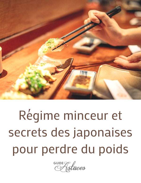 Régime minceur et secrets des femmes japonaises pour maigrir