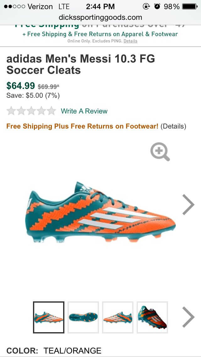 Lionel Messi Cleats : lionel, messi, cleats, Lionel, Messi, Cleats, Cleats,, Adidas