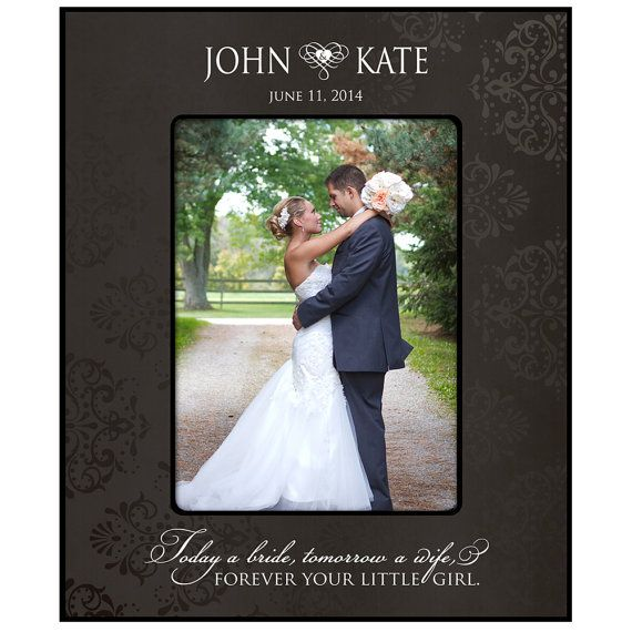 Personalized Wedding Photo Frame for Parents \