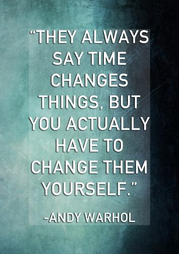 Inspirational Artist Quotes (Art classroom motivational