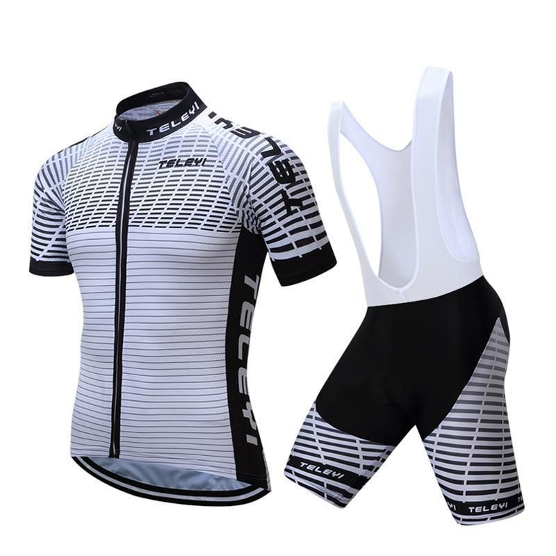 f0374b849 Teleyi Racing Sport Cycling Jersey Set Summer Short Sleeve Bicycle Cycling  Clothing Ropa Ciclismo