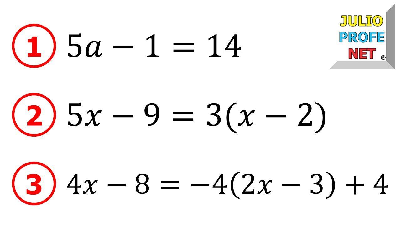 Ejemplo De Solución De Ecuaciones Julioprofe Ecuaciones Ecuaciones Ejercicios De Ecuaciones Lineales Hojas De Cálculo