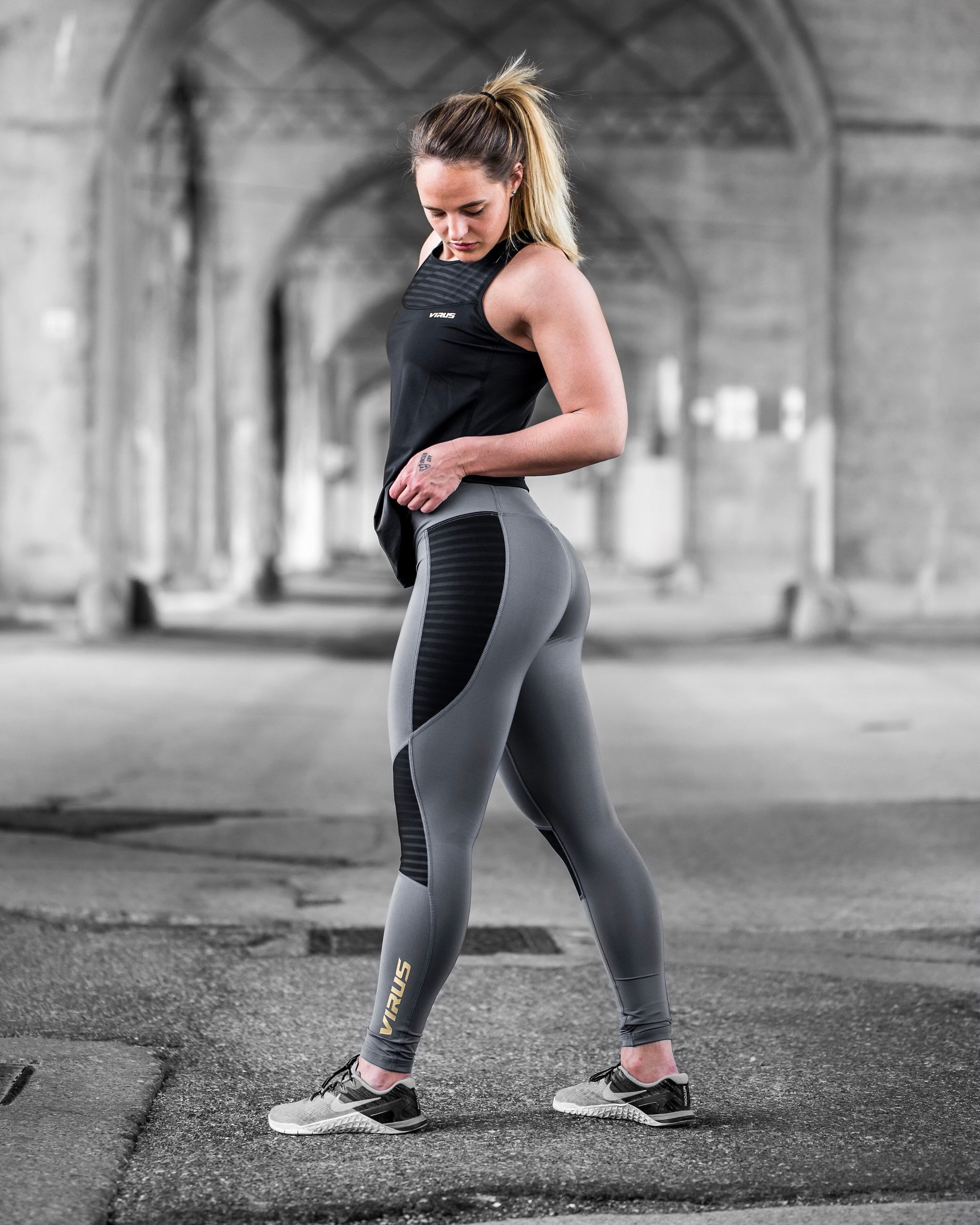 4082e9757f From the gym to the street our Women's Kilo Compression Pant is ready for  anything. | Athlete // @jfraank | @virusintl #virusintl  #thepassionthatdefinesyou ...