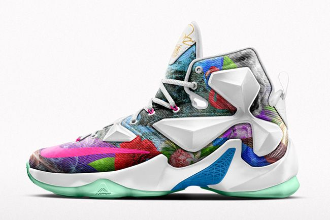 Nike iD Limited Edition 2K Graphic Option for LeBron 13 - EU Kicks: Sneaker  Magazine