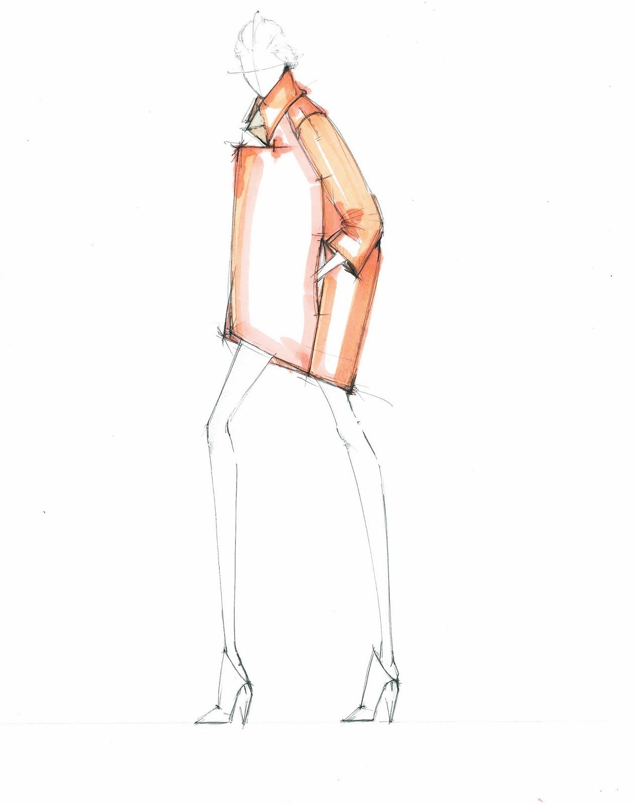 Alessandra de gregorio fashion illustration fashion illustrations