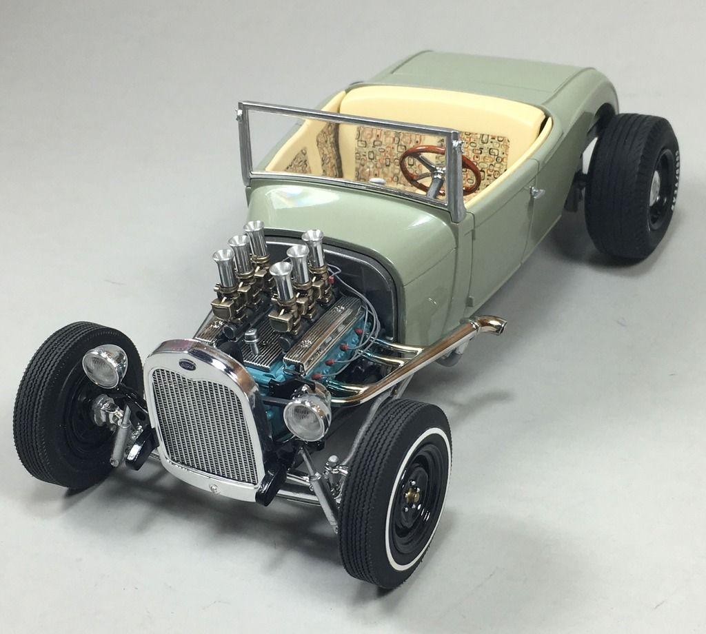 Revell 1929 Ford Model A Roadster - Under Glass - Model ...