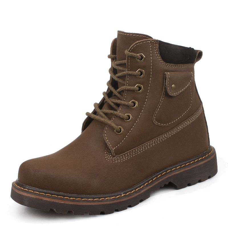 Brown men elevated boots that make you taller 8cm   3.15inc on Chiq  0.00  http 1952d46a780a