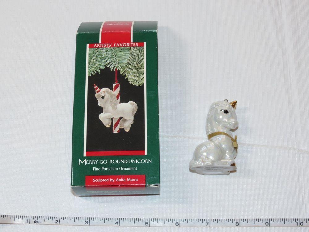 1986 Hallmark Magical Unicorn Hand Painted Limited Edition