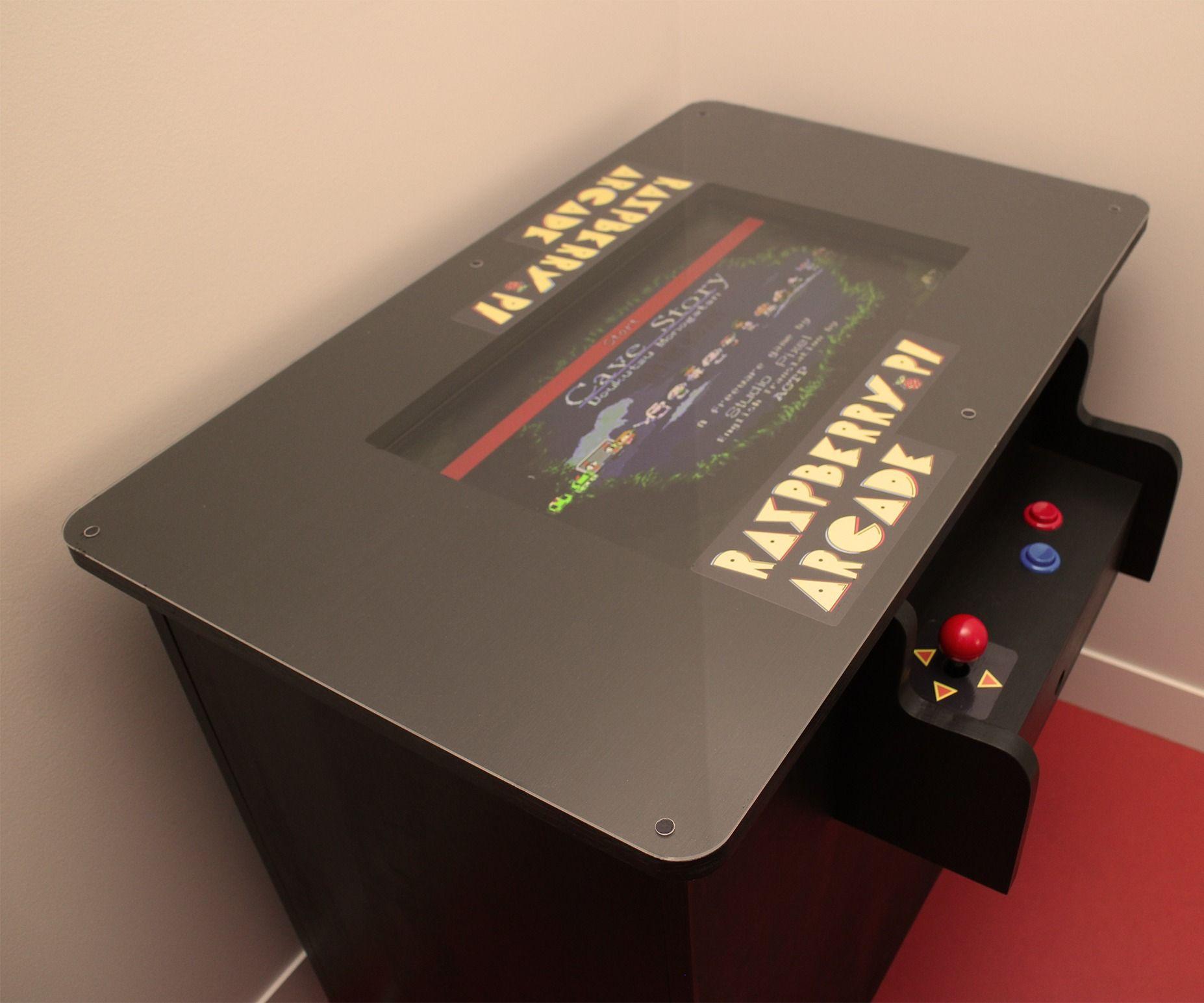 Raspberry Pi Arcade Table Electronics Pinterest Arcade