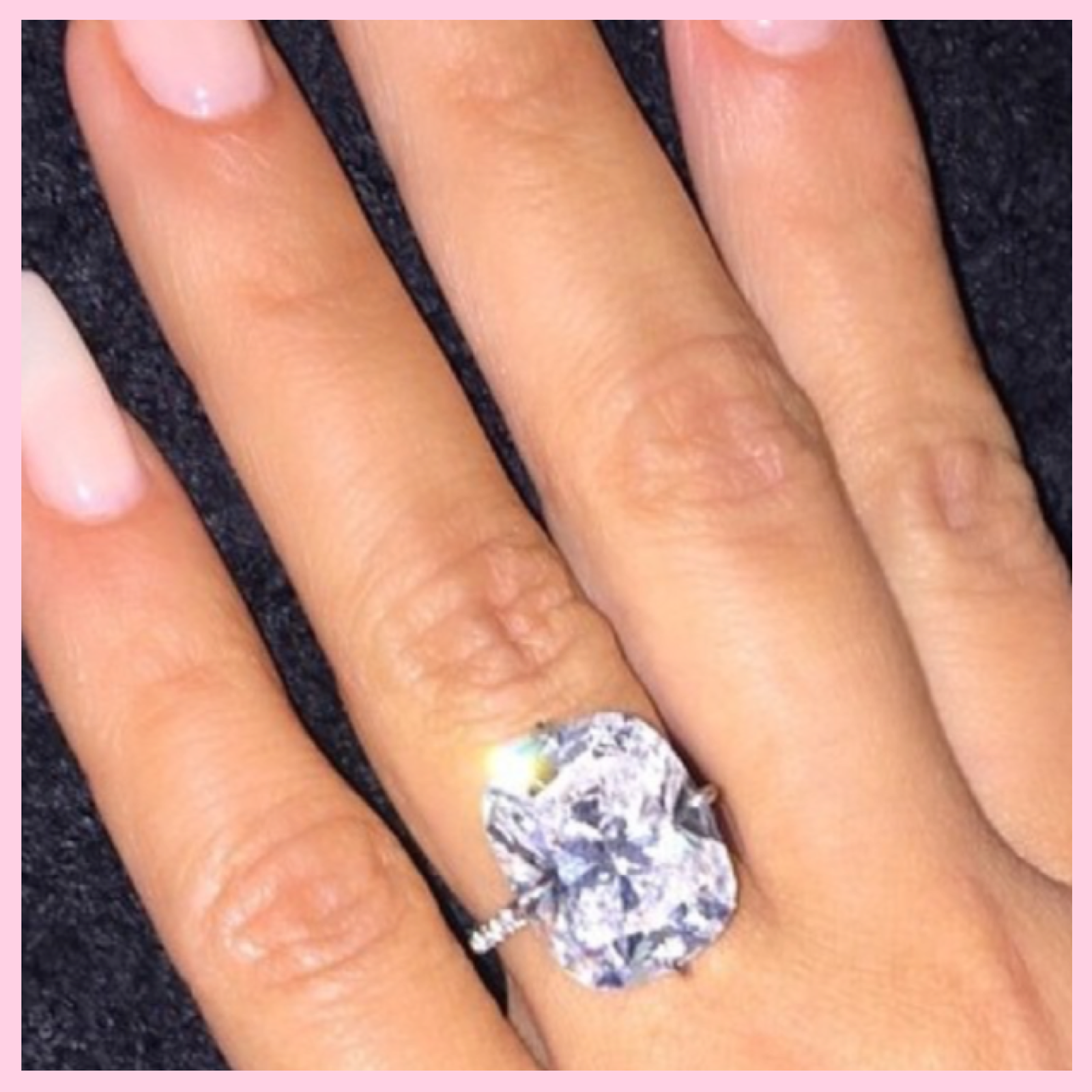 Attrayant Julers Row: Celebrity Engagement Ring Recap, Kim Kardashian West, Lorraine  Schwartz