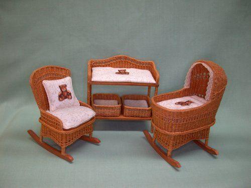 Nursery Furniture : Second Childhood, The Miniatures Of IGMA Artisan  Barbara Richmond