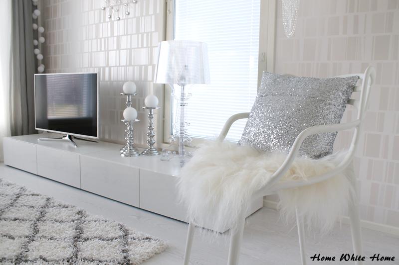 My white living room - Home White Home -blog