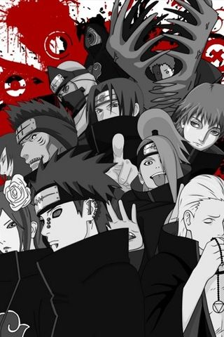 Naruto Akatsuki Android Wallpapers Hd Naruto Shippuden