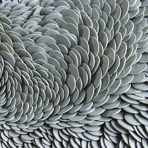 I am totally and utterly in love with this piece of work by Fenella Elms - Ceramics Artist - Flows