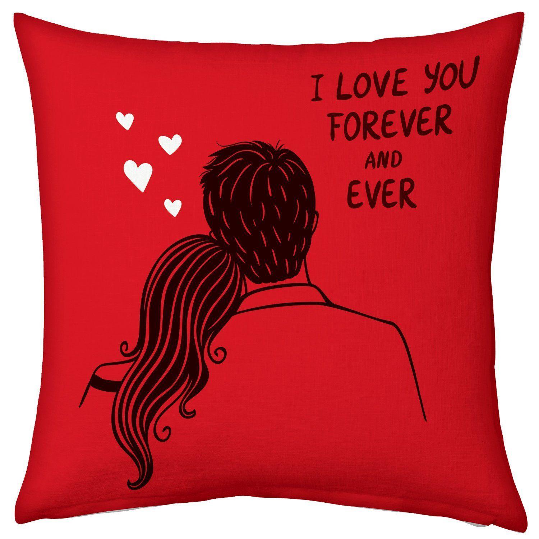Buy Valentine Gifts For Boyfriend Girlfriend Love Printed Cushion