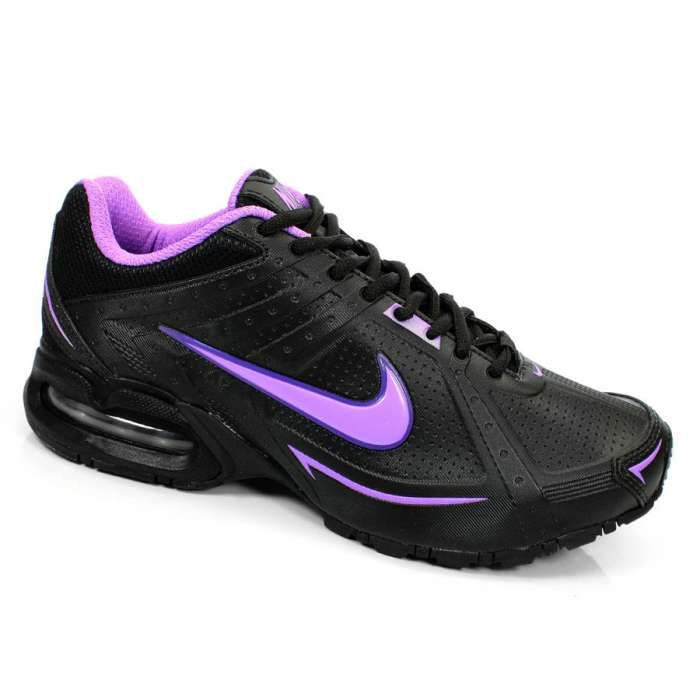 Tenis Running Feminino Air Max Spear II Nike -  Preto/Violeta