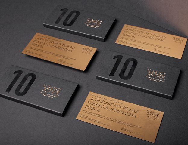 Invitation For Lukasz Jemiol 10th Anniversary Print Designs