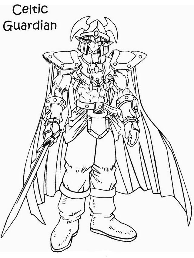 ausmalbilder yugioh 9  monster coloring pages coloring