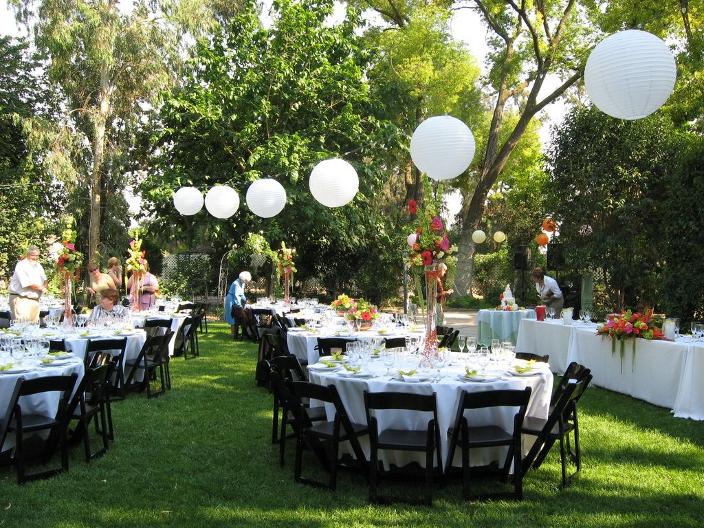 Cheap Outdoor Wedding Reception Ideas