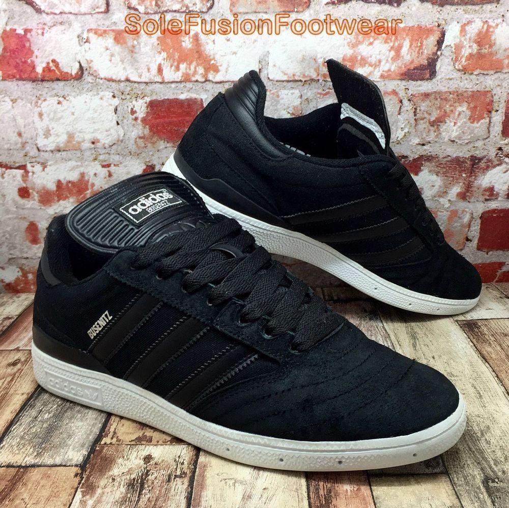 adidas mens busenitz trainer schwarz sz skateboard - sneakers uns