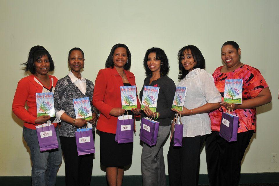 Representatives from Avon, Tastefully Simple, Blessings