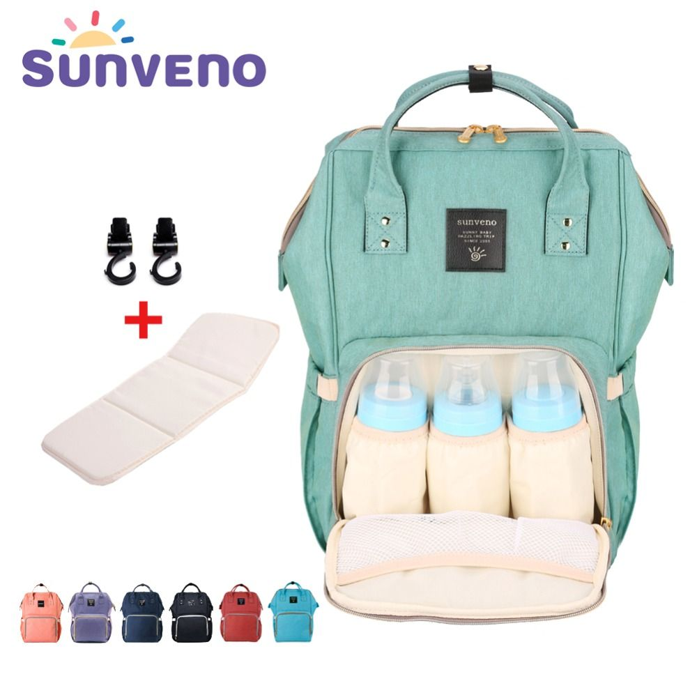 Fashion Large Capacity Diaper Bag Mummy Backpack Nursing Travel Stroller Tote