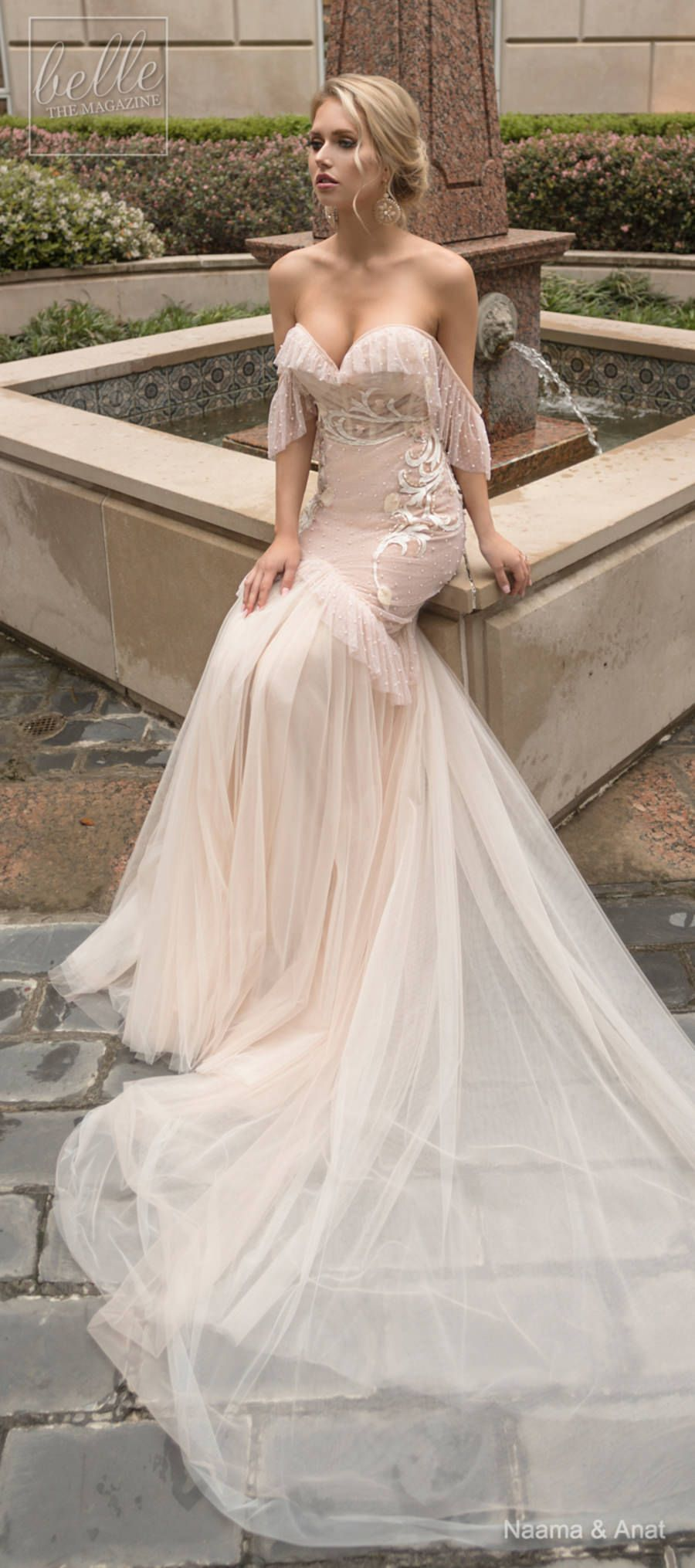 f6683d382c Naama and Anat Wedding Dress Collection 2019 - Dancing Up the Aisle -  FLAMENCO