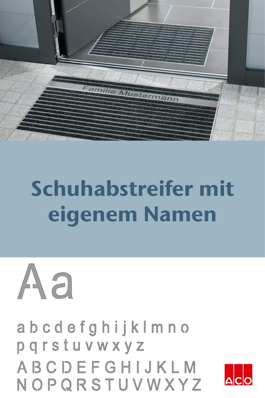 Personalisierte Schuhabstreifer Fur Ihre Haustur Personalized Shoe Scraper Your Entry Area In 2020 Schuhabstreifer Haustur Eingang
