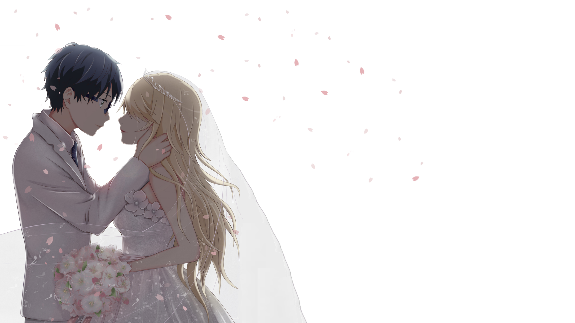 Shigatsu wa kimi no uso (Your lie in april) wallpaper