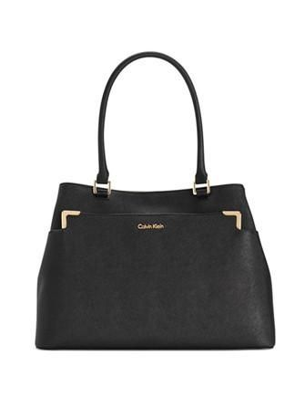 4995f7fef7 Calvin Klein On My Corner Saffiano Tote | See what just got listed ...