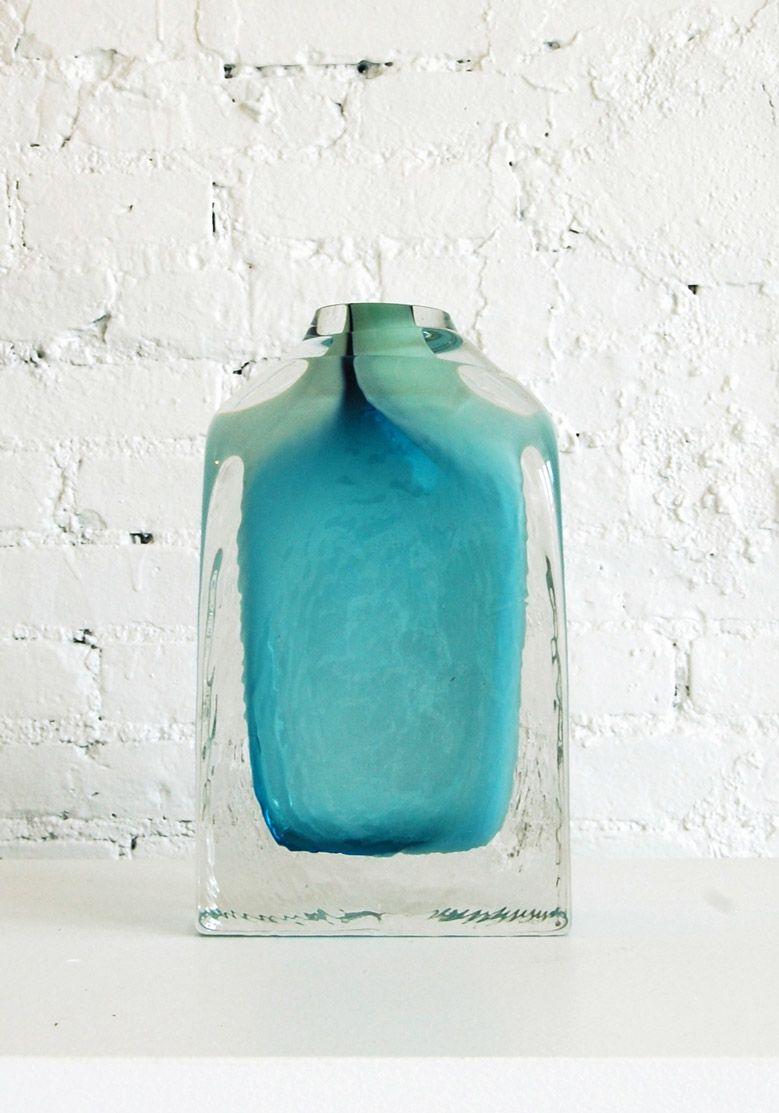 Adorno Vessel Glass Design Inspiration Duck Egg Blue