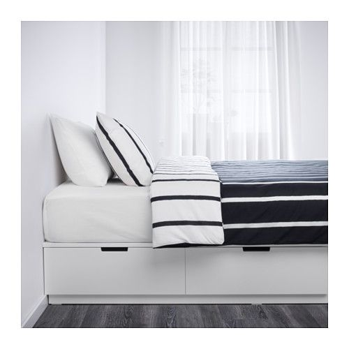 Nordli Bed Frame With Storage White Official Website Ikea Bed Frame With Storage Ikea Bed Bed Storage