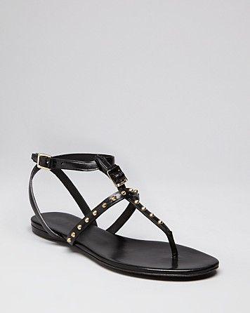 a12b37d3113a My go to sandal!!! Burberry Flat Thong Sandals - Housecheck Studs Masefield