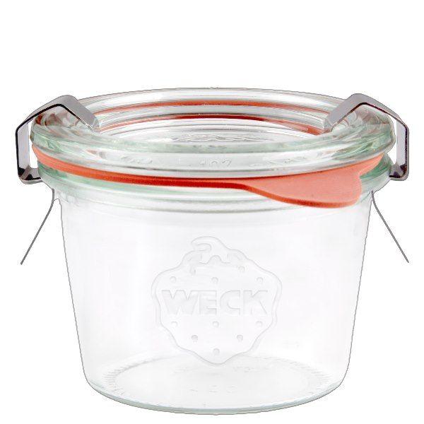 WECK 80ml Mini Sturzglas komplett