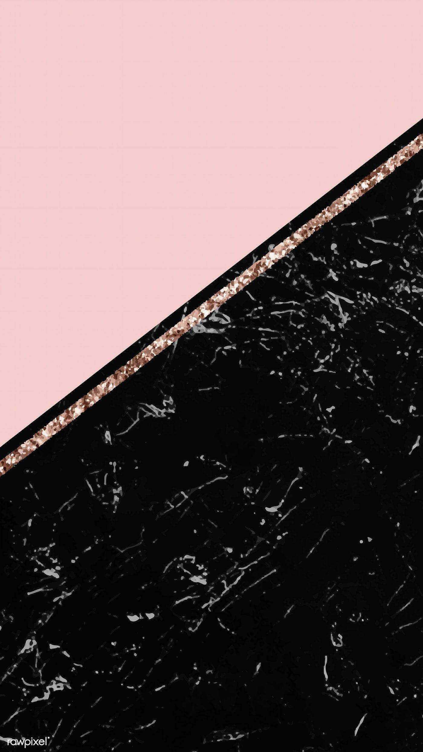 Download Premium Vector Of Two Tones Marbled Mobile Screen Vector 1222951 Gold Wallpaper Background Rose Gold Wallpaper Iphone Gold Wallpaper Iphone