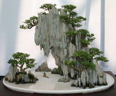 Image result for penjing aquascape | Bonsai garden, Bonsai ...