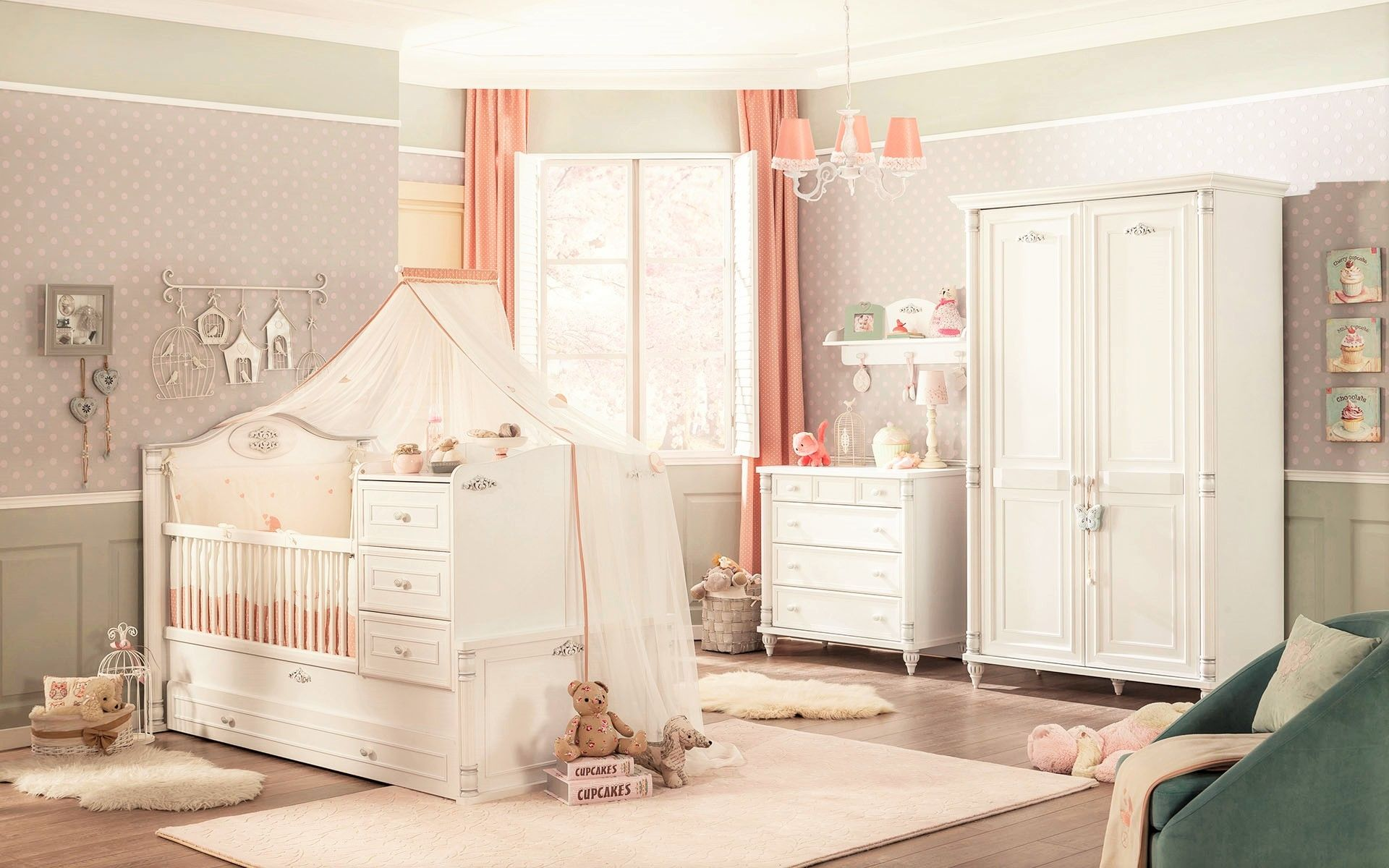 Slaapkamer Voor Baby.Romantic Babykamer Inspiratie Babykamer Baby Slaapkamer