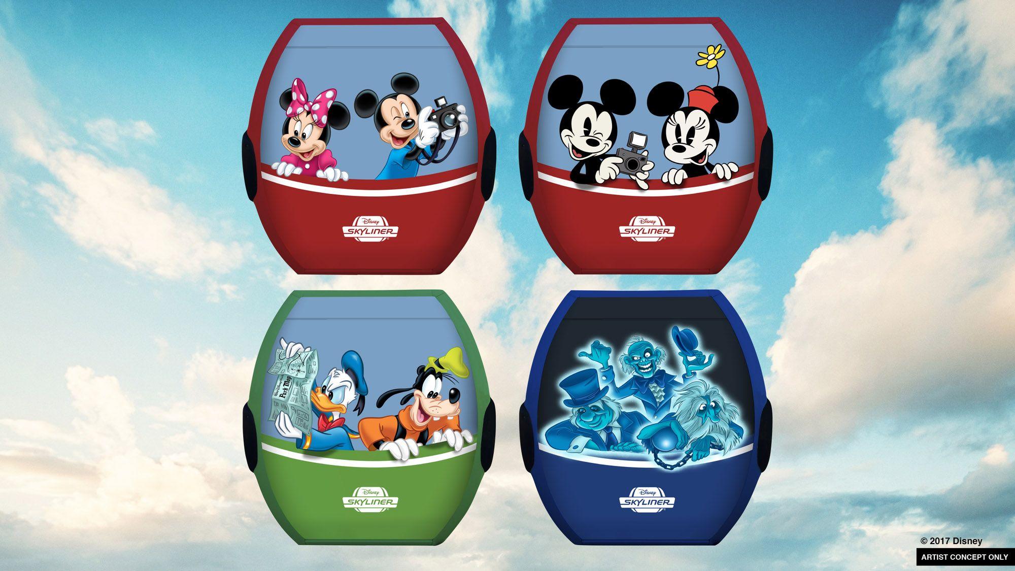 Disney Skyliner Cable Car