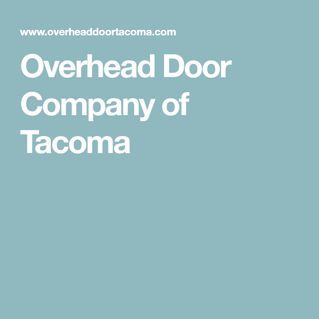 Overhead Door Company Of Tacoma