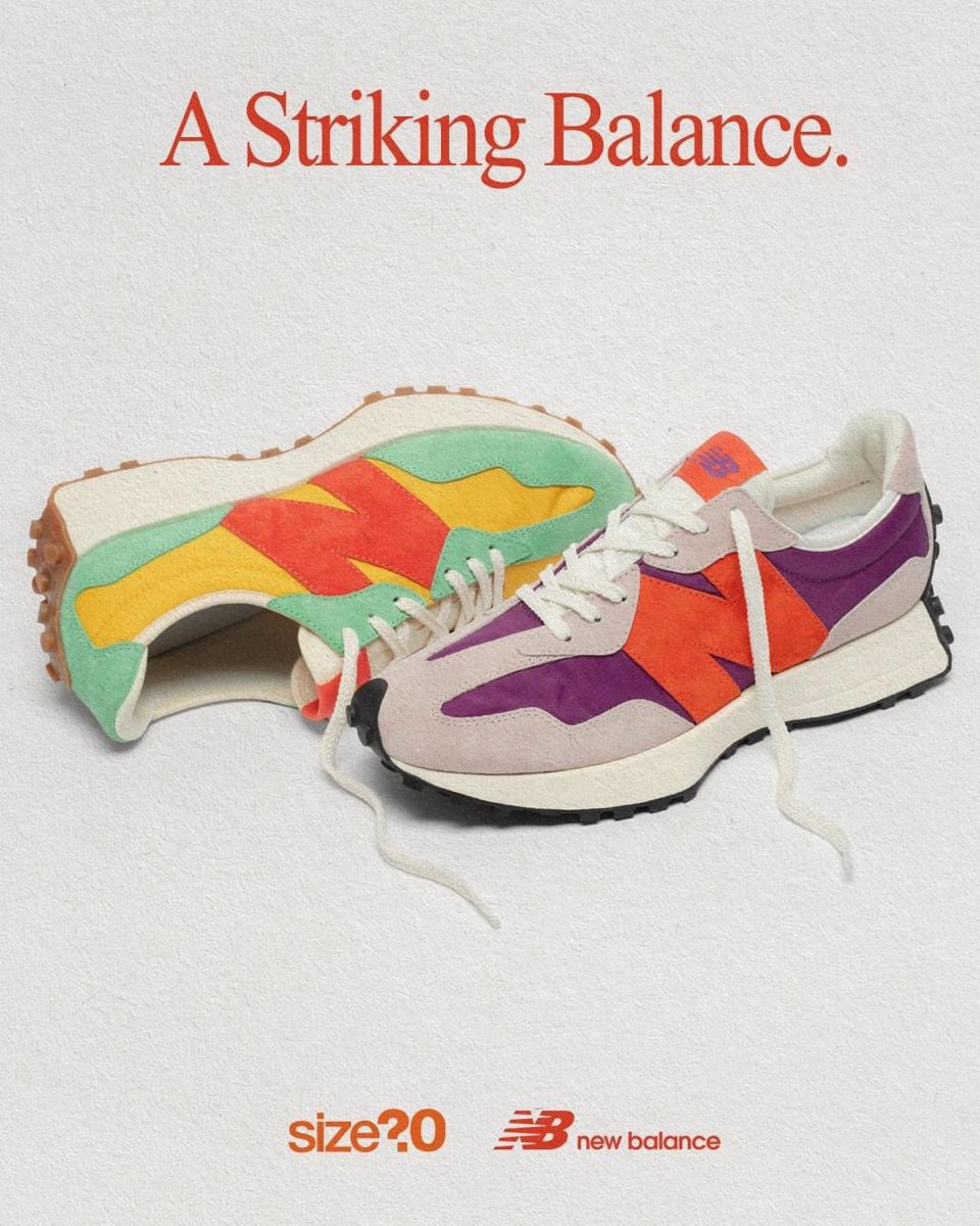 Size? x New Balance 327 in 2020   New