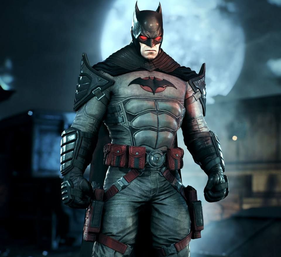 Batman Arkham Knight Batcave: Flashpoint Batman Arkham Knight Skin Revealed