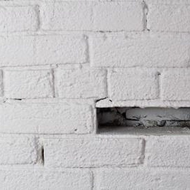 How To Take White Paint Off Red Brick Painted Walls