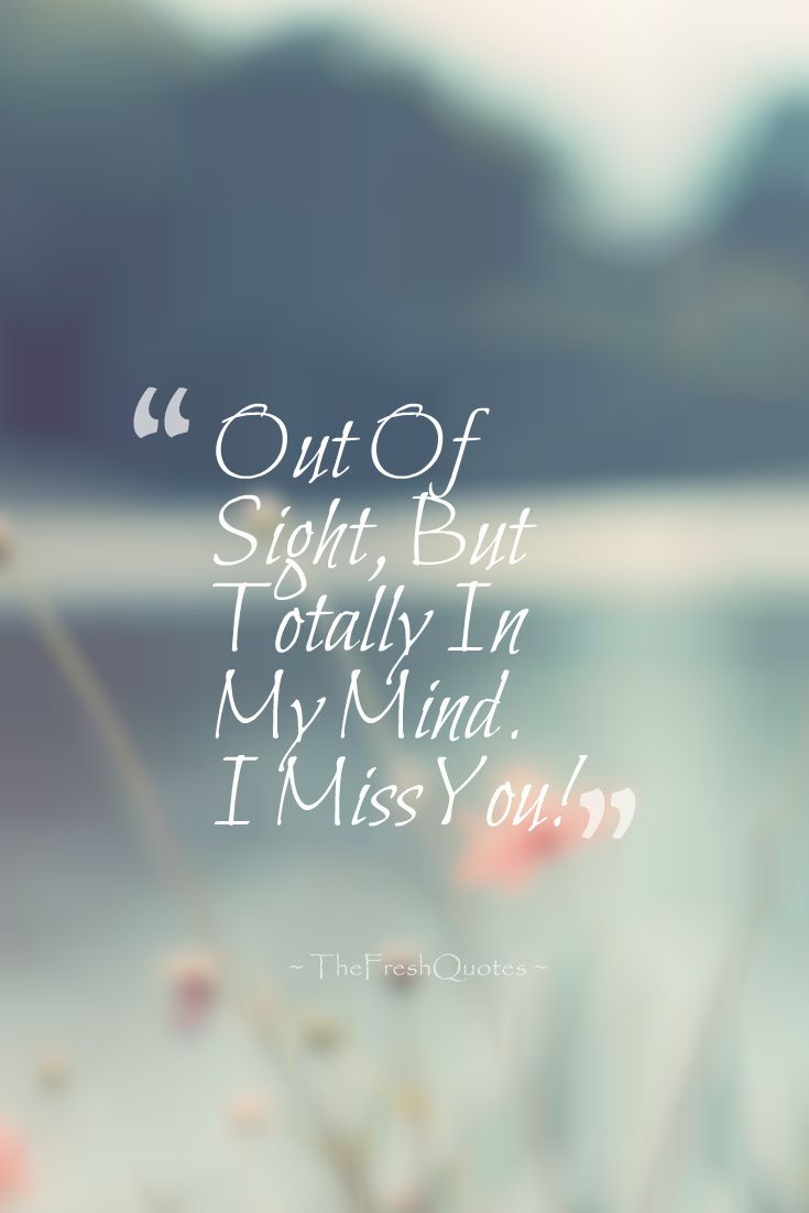 Missing You Quotes For Her 35 Romantic Thinking Of You Quotes And Messages  Quotes & Sayings