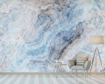 Pin By Pumudi Siriwardana On Haus Interieu Design In 2020 Marble Wall Mural Blue Marble Wallpaper Marble Wallpaper