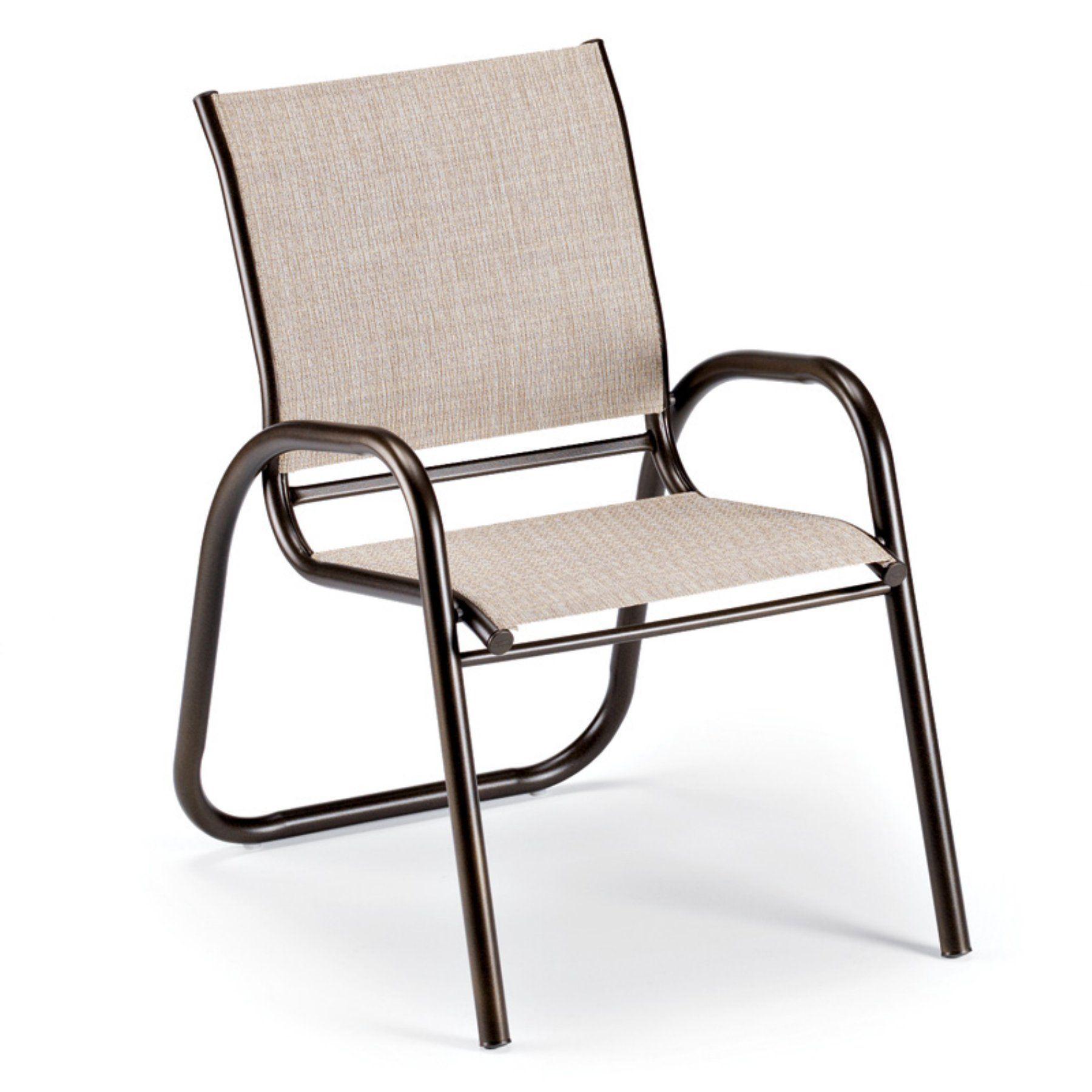 Outdoor telescope casual gardenella sling stackable cafe chair
