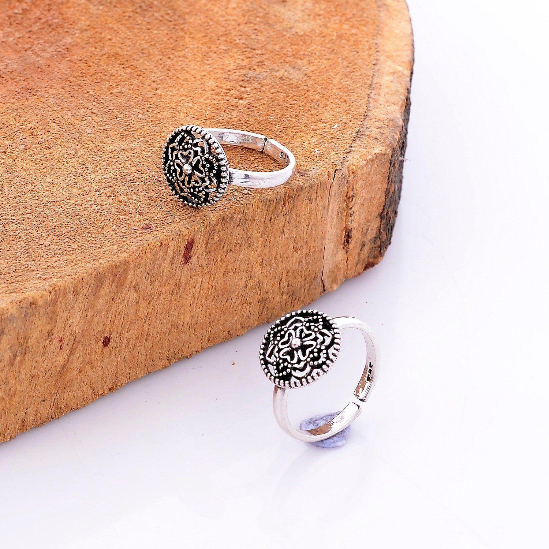 FB Jewels Solid Sterling Silver Antiqued Flip Flop Post Earrings
