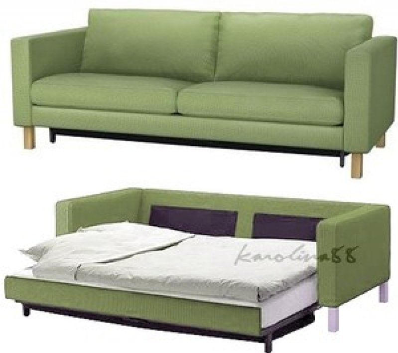 Green Sofa Bed Futon Orange Leather Sofa With Best Bed