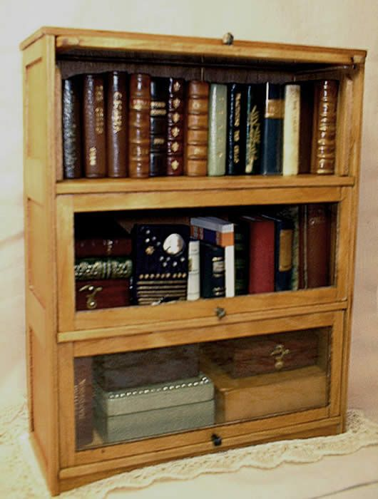 Classic Book Case With Disappearing Glass Doors Works In Any Interior Decor From Shaker Woodworking Furniture Plans Antique Bookshelf Shaker Furniture