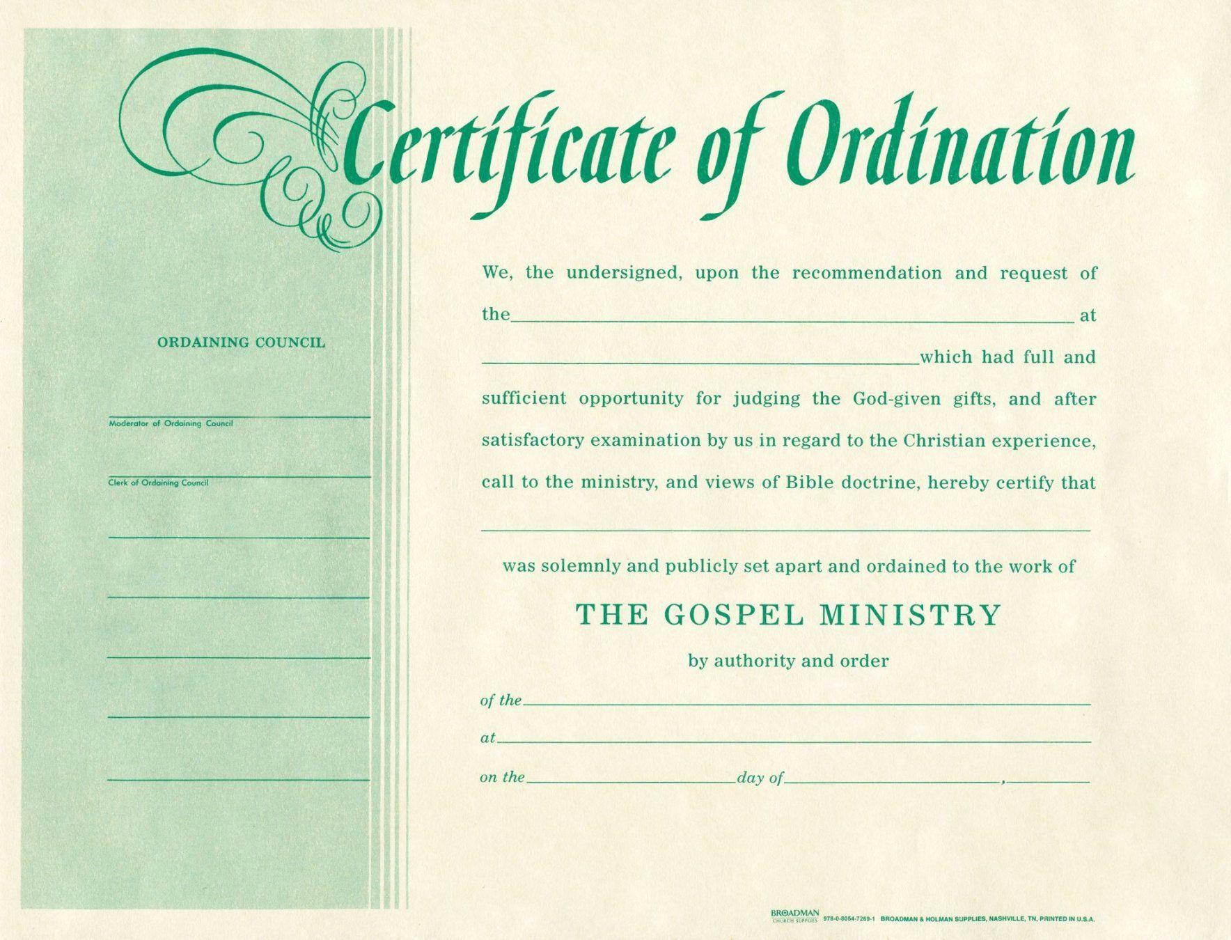 20 Deacon ordination Certificate Template ™ in 2020