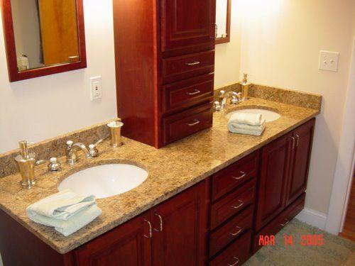 His And Her Bathroom Vanity Design